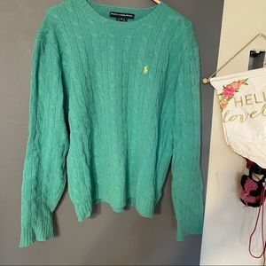 Ralph Lauren sport XL sweater women's